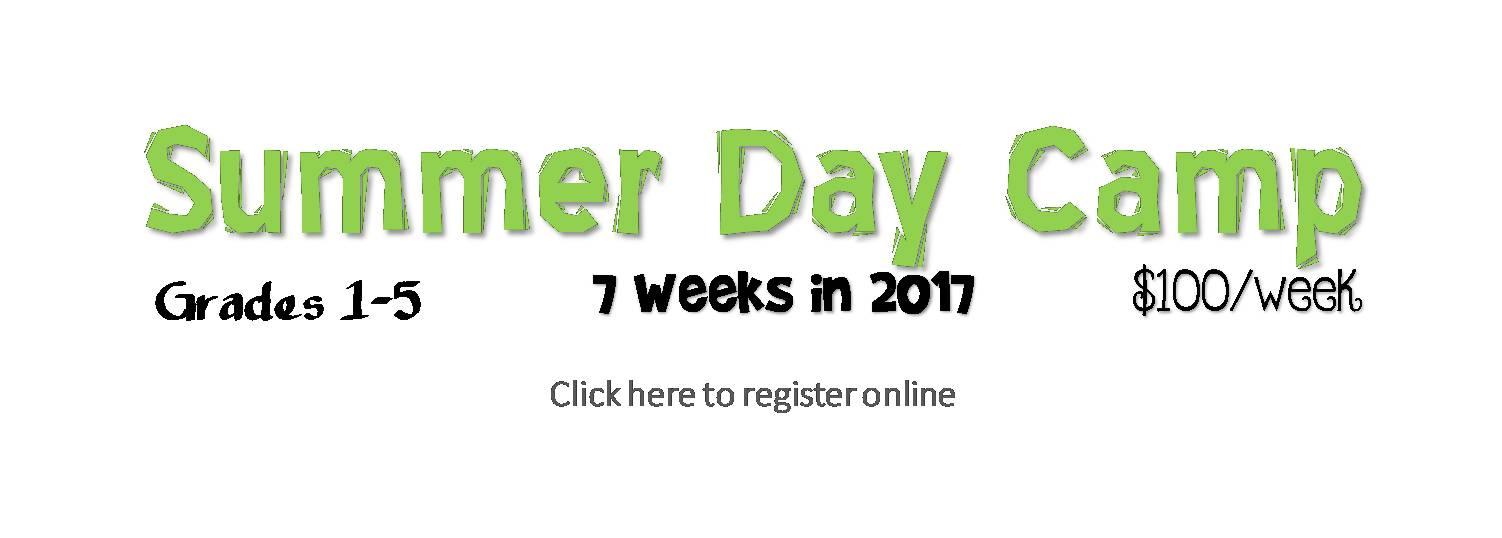 Day Camp Registration